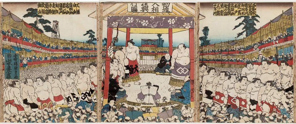 ●⑪勧進大相撲興行図1843歌川国貞.jpeg