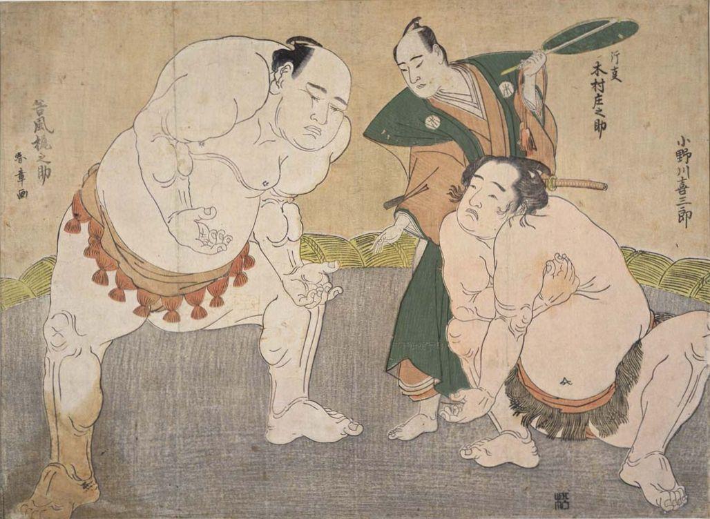 ●谷川・小野川・木村庄之助 勝川春章.jpg